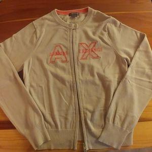 Armani Exchange sweater cardigan
